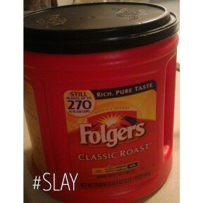 Folgers Coffee Classic Roast uploaded by Marionette D.