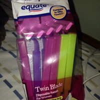 Equate™ Twin Blade Disposable Razors For Women 10 ct. Package uploaded by Jennifer P.