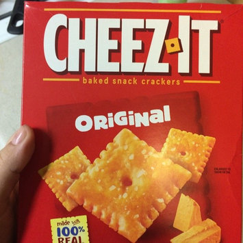 Cheez-It® Asiago Baked Snack Crackers uploaded by Leila P.