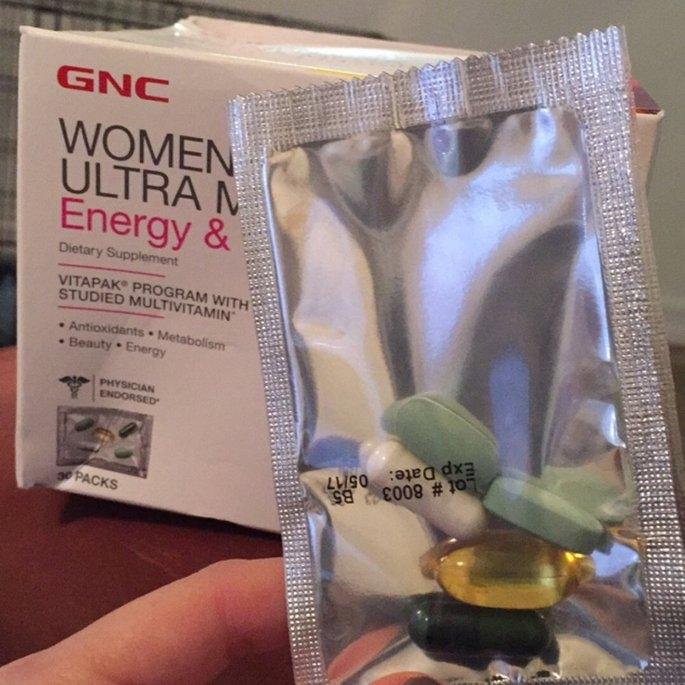 GNC Women's Ultra Mega(r) Energy & Metbolism uploaded by Hannah R.