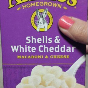 Photo of Annie's Homegrown Rice Shells & Creamy White Cheddar Gluten Free Macaroni & Cheese uploaded by Shea L.