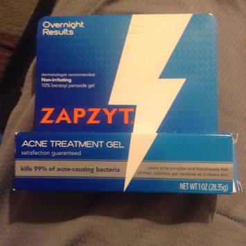 Photo of ZAPZYT Maximum Strength 10% Benzoyl Peroxide Acne Treatment Gel uploaded by James B.
