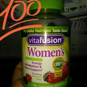 MISC BRANDS Vitafusion Women's Gummy Vitamins Complete MultiVitamin Formula uploaded by Stacy A.