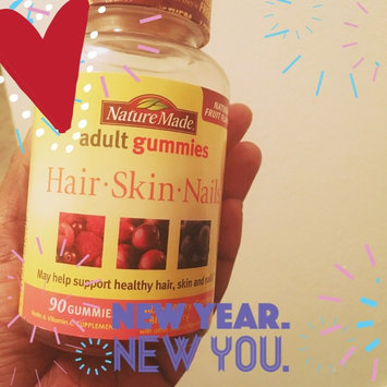 Photo of Nature Made Adult Gummies Hair-Skin-Nails Mixed Berry Cranberry & Blueberry 90 Gummies uploaded by Candy Y.