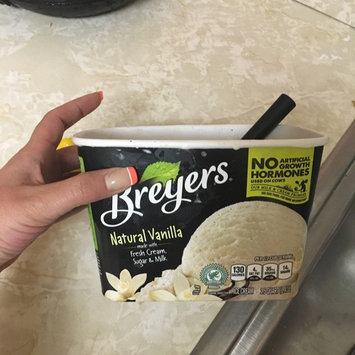 Breyers All Natural Vanilla Ice Cream uploaded by Nina D.