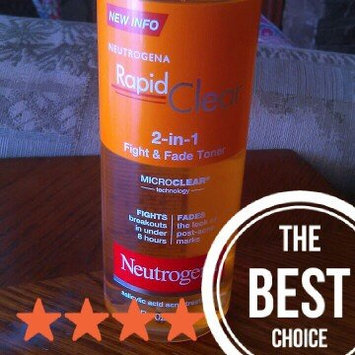 Photo of Neutrogena Rapid Clear 2-in-1 Fight & Fade Toner uploaded by Jessica