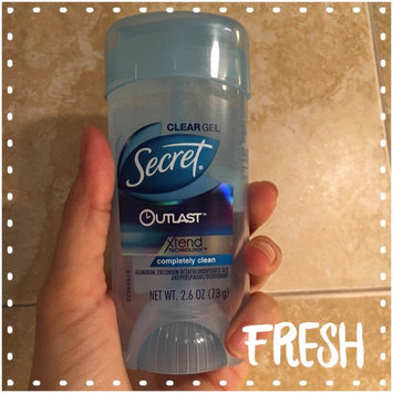 Secret® Outlast Clear Gel Completely Clean uploaded by Jackie A.