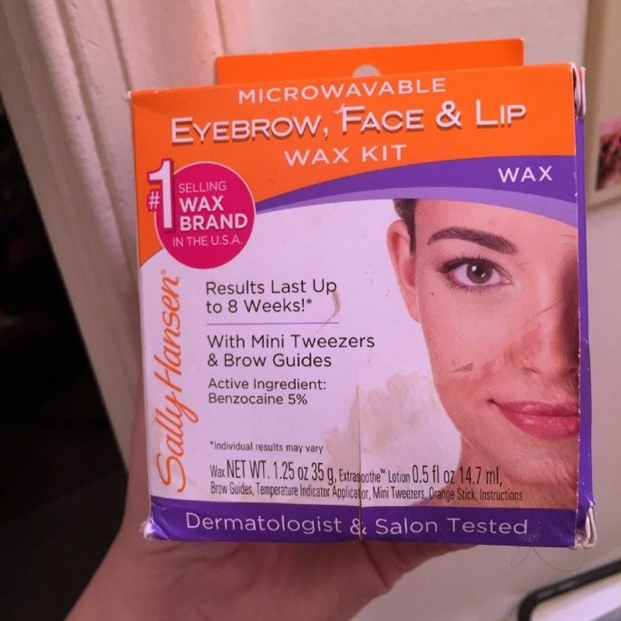 Sally Hansen Eyebrow, Face & Lip Wax, Microwaveable, wax 1.25 oz uploaded by Jennifer R.