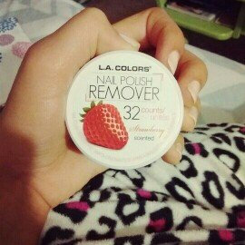 Photo of L.A. Colors Nail Polish Remover Pads uploaded by Angie M.