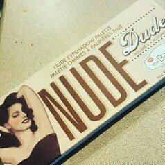 theBalm NUDE 'dude Eyeshadow Palette w/Twinbeauty Brush uploaded by Devanee S.