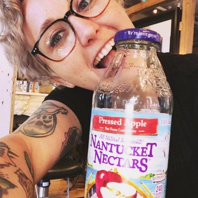 Nantucket Nectars® 100% Pressed Apple Juice 16 fl. oz. Glass Bottle uploaded by Cassondra R.