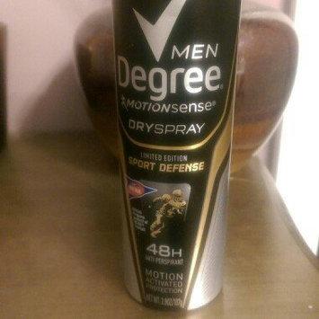 Degree Men Dry Spray Antiperspirant, Sport Defense, 3.8 oz uploaded by Kristie M.