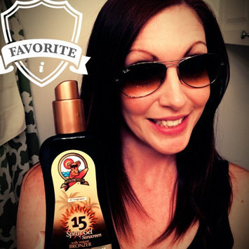 Australian Gold Spray Gel with Instant Bronzer SPF 15 uploaded by Katherine R.