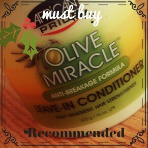 Photo of African Pride Olive Miracle Leave in Conditioner, 15 oz uploaded by ImpressLivity S.