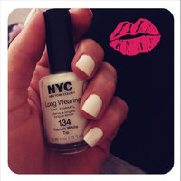 (3 Pack) NYC Long Wearing Nail Enamel - French White Tip uploaded by Savannah R.