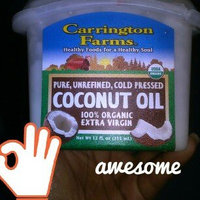 Carrington Farms - 100% Organic Pure Unrefined Cold Pressed Extra Virgin Coconut Oil uploaded by Bri L.