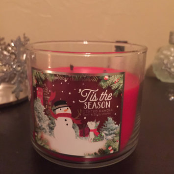 Bath & Body Works Bath and Body Vanilla Bean Noel 3 Wick Candle uploaded by Emily S.