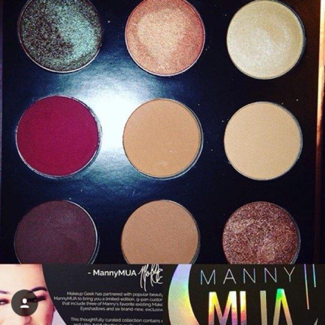 Makeup Geek X Mannymua Palette uploaded by Megan J.