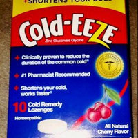 Cold-Eeze Cold Remedy Natural Wild Cherry Flavor Lozenges - 18 Ct uploaded by Joy U.