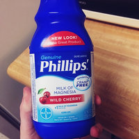 Phillips Milk of Magnesia Wild Cherry Saline Laxative uploaded by Teran F.