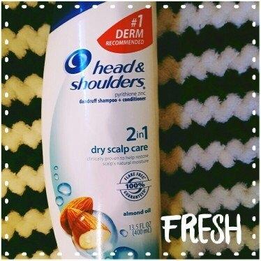 Head & Shoulders® 2-in-1 Dry Scalp Care Dandruff Shampoo + Conditioner 2-23.7 fl. oz. Plastic Bottles uploaded by Lauren H.