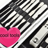 ALICE Manicure / Pedicure Kit, 10 PCS Manicure Set, Leather Grooming Kit uploaded by Arliss A.