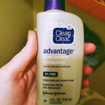 Photo of Clean & Clear® Advantage® Acne Control Moisturizer uploaded by Kayti B.