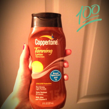 Photo of Coppertone Tanning Lotion SPF 15 uploaded by Christina N.