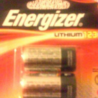 Energizer Photo 123 Batteries 2 Count (EL123APB2) uploaded by Karla H.
