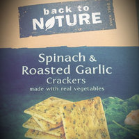 Back to Nature Spinach And Garlic Crackers, 6.5 oz uploaded by Julia S.