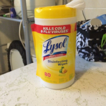 Lysol Disinfecting Wipes - Lemon uploaded by Jeri M.