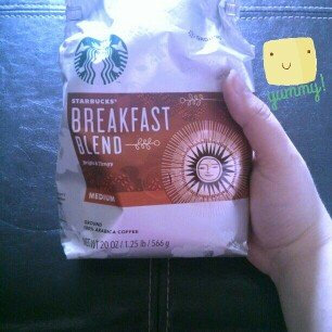 Photo of Starbucks® Breakfast Blend Medium Roast Ground Coffee uploaded by Irie C.