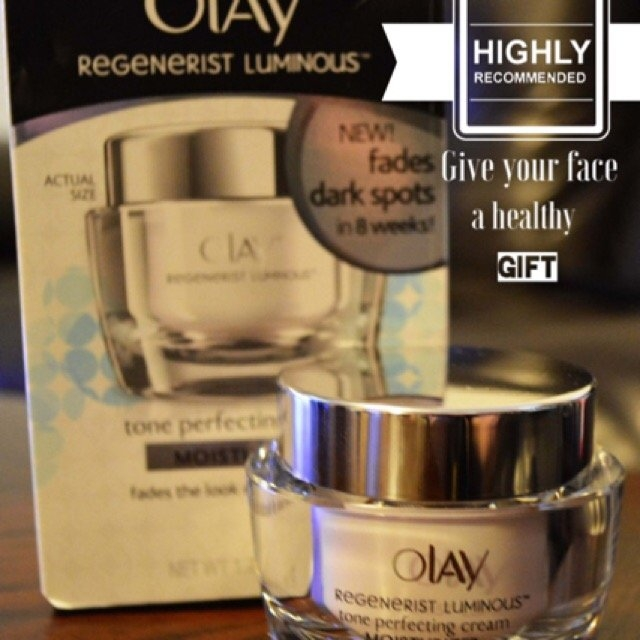 Olay Regenerist Luminous Tone Perfecting Cream uploaded by Michelle N.
