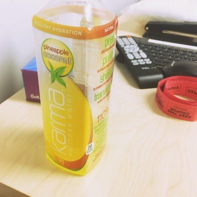 Karma Wellness Water Vitality Pineapple Coconut uploaded by Barbara M.