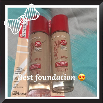 Photo of Rimmel Lasting Finish Foundation uploaded by Lindsay O.