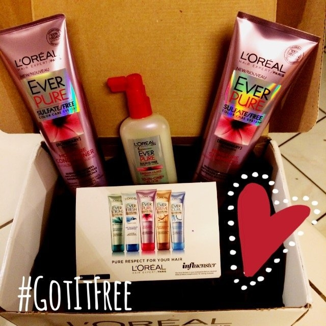 L'Oréal EverPure Moisture Conditioner uploaded by Desiree F.