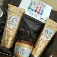 Photo of L'Oréal Paris Ever Sleek Sulfate Free Intense Smoothing Haircare Regimen Bundle uploaded by Trinity W.
