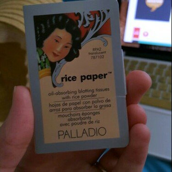 Palladio Rice Paper Powdered Blotting Tissues uploaded by Sarah M.