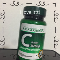 GoodSense Vitamin C Dietary Supplement Tablets, 500 mg, 100 Count uploaded by HONOMI T.