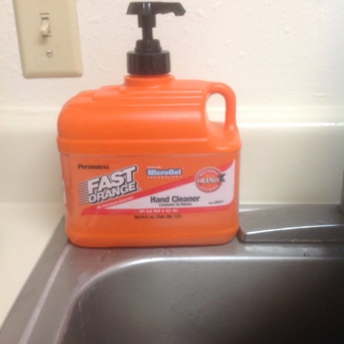Permatex . 50 Gallon Fast Orange Pumice Lotion Hand Cleaner  25217 uploaded by Melissa C.