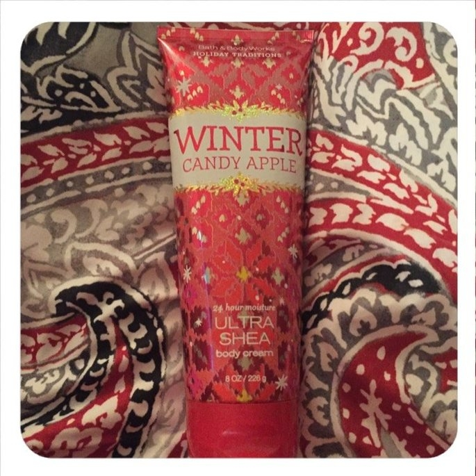 Bath & Body Works Winter Candy Apple Body Cream uploaded by Sam M.