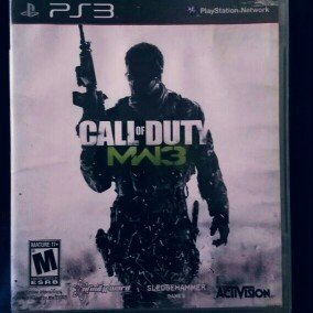 Photo of Activision Call of Duty: Modern Warfare 3 (PlayStation 3) uploaded by Priscilla D.