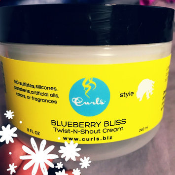 Photo of Curls Blueberry Bliss Twist-N-Shout Cream 8 oz uploaded by Gabrielle H.