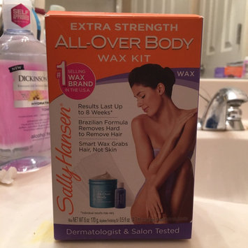Photo of Sally Hansen® Extra Strength All Over Body Wax Hair Removal Kit uploaded by Ashley T.