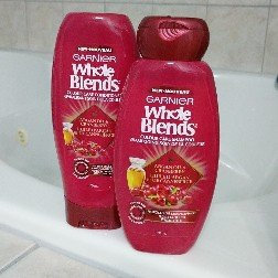 Photo of Garnier Whole Blends Argan Oil & Cranberry Extracts Color Care Shampoo uploaded by Nita C.
