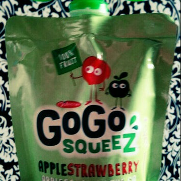 Photo of GoGo SQUEEZ APPLE STRAWBERRY APPLESAUCE ON THE GO uploaded by Katie S.