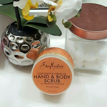 SheaMoisture Coconut & Hibiscus Hand & Body Scrub uploaded by Alfreda J.