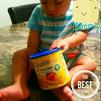 Photo of Gerber Graduates Lil' Crunchies Baked Whole Grain Corn Snack Apple & Sweet Potato uploaded by Elizabeth V.