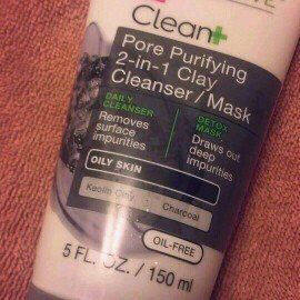 Garnier® SkinActive™ Clean+ Pore Purifying 2-in-1 Clay Cleanser/Mask for Oily Skin 5 fl. oz. Tube uploaded by Jessica M.