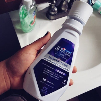 Crest 3D White Luxe Diamond Strong Anticavity Fluoride Rinse uploaded by Jessica M.